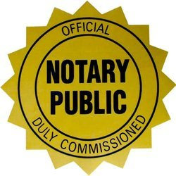 Notary Public Official