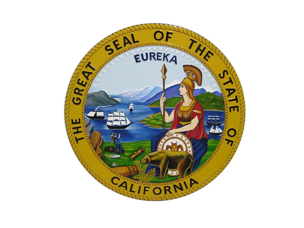 The Great Seal of the States of California